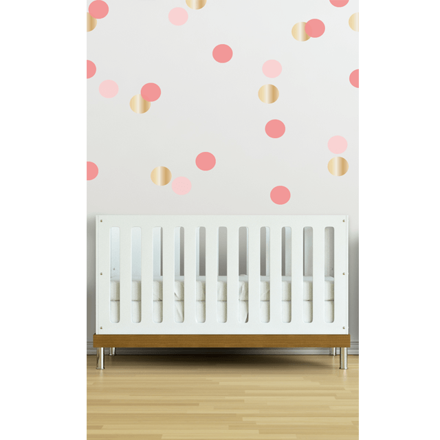 Confetti Wall Decals in Coral - Project Nursery