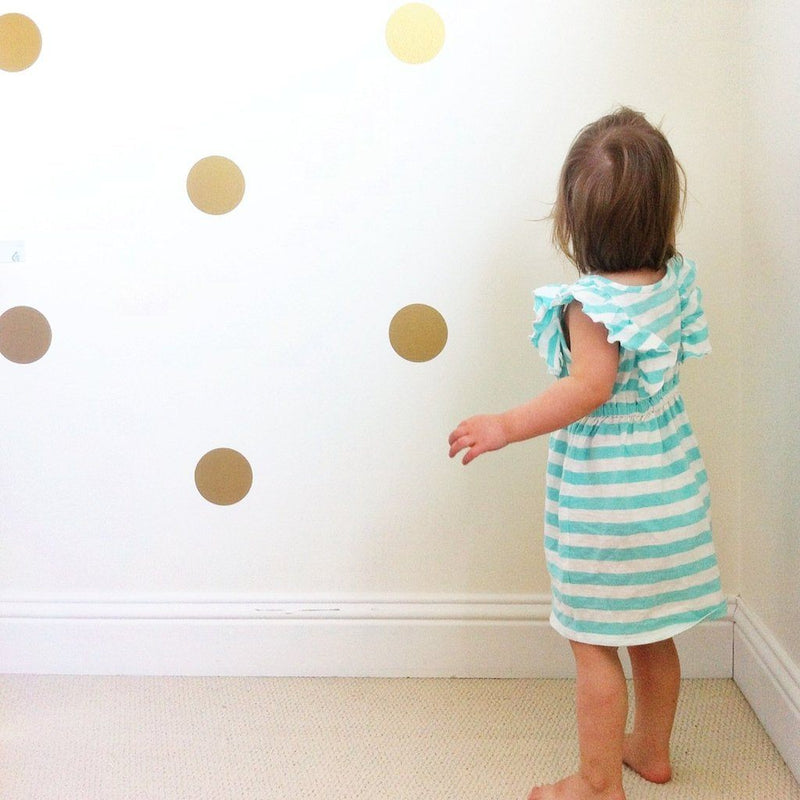 Polka Dot Wall Decals - Multiple Colors - Project Nursery