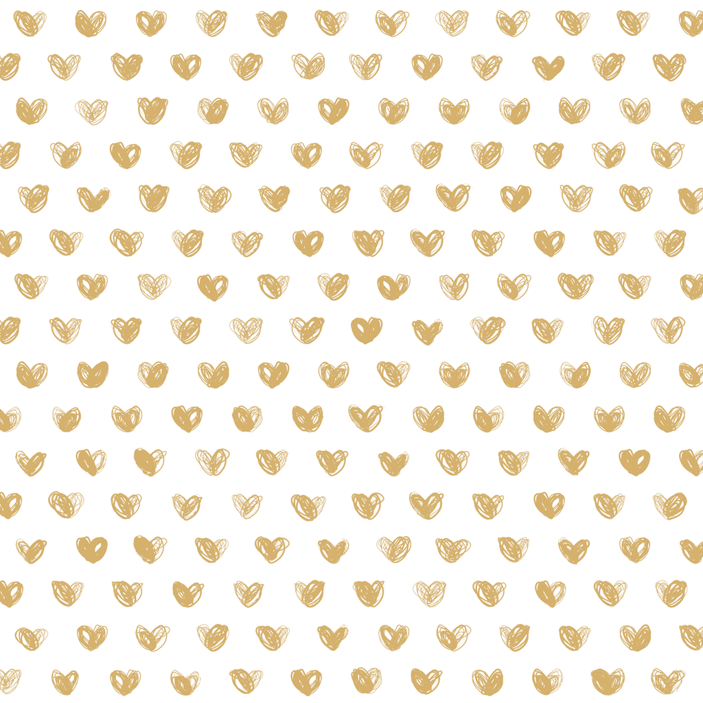 Love Wallpaper Roll / Gold - The Project Nursery Shop - 2