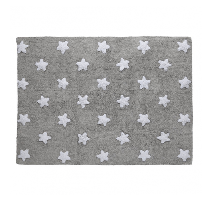 Stars Rug Gray - The Project Nursery Shop - 3