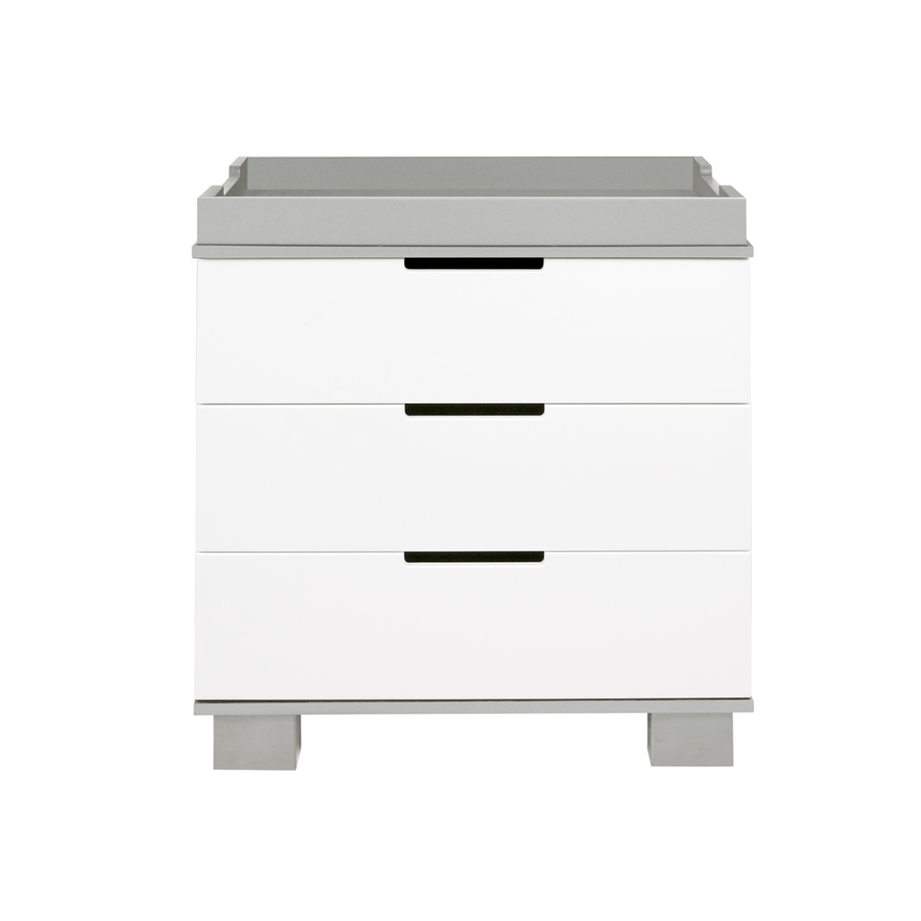 Modo 3-Drawer Changer Dresser Gray - The Project Nursery Shop - 4