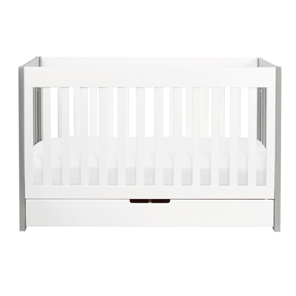 Mercer 3-in-1 Convertible Crib with Toddler Bed Conversion Kit Gray - The Project Nursery Shop - 2