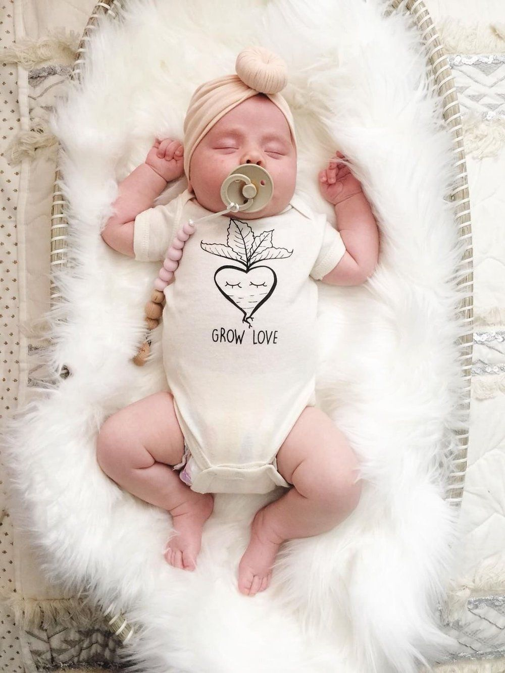 Grow Love Radish Organic Bodysuit + Tee - Project Nursery