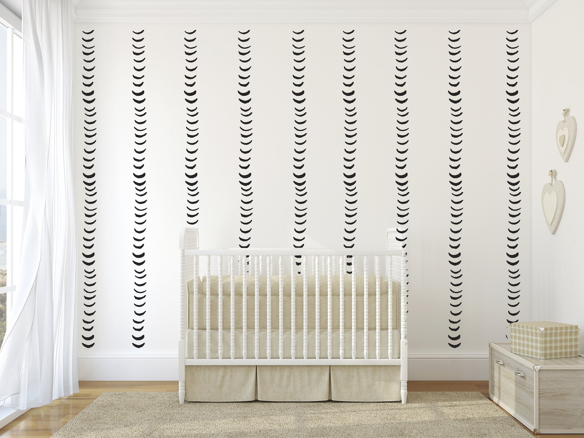 Half Moons Wall Decals - Multiple Colors - Project Nursery
