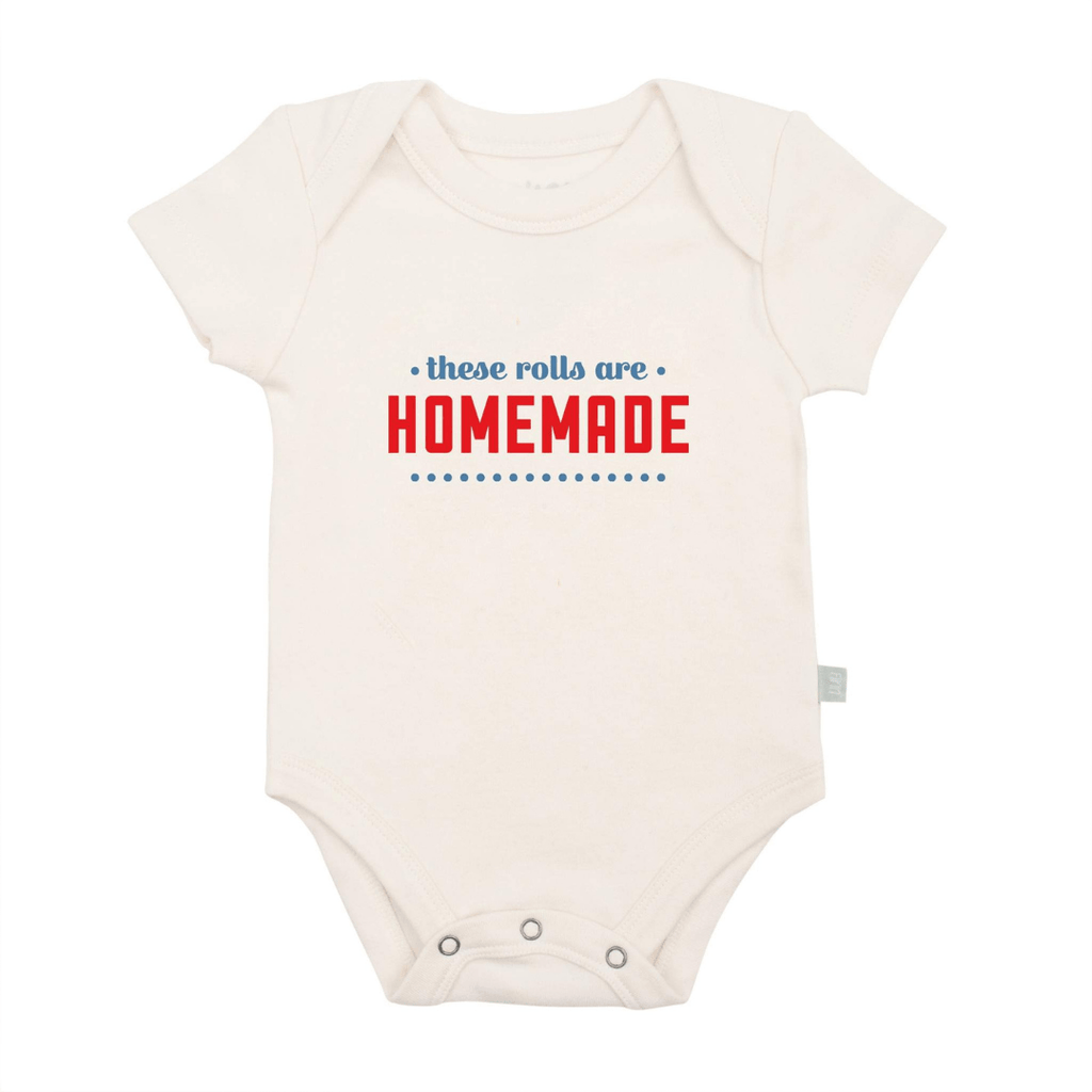 These Rolls Are Homemade Graphic Bodysuit - Project Nursery