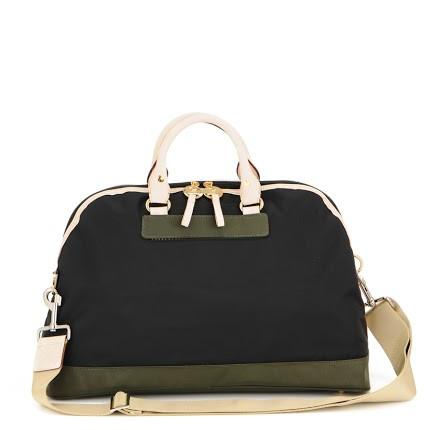 Retro Diaper Bag in Black Olive  - The Project Nursery Shop - 2