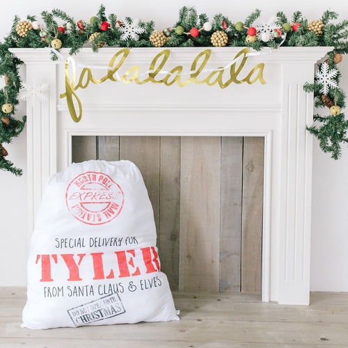 Personalized Santa Sack - Project Nursery
