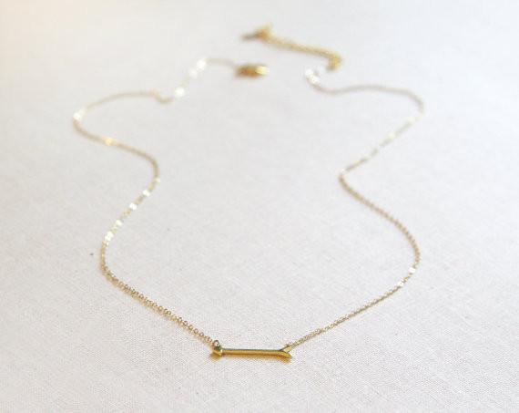 Tiny Arrow Necklace  - The Project Nursery Shop - 2