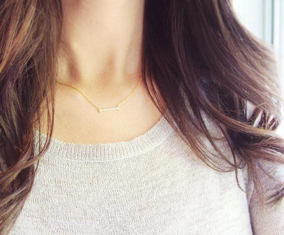 Tiny Arrow Necklace  - The Project Nursery Shop - 5