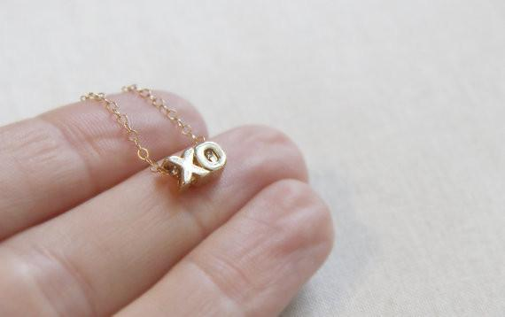 XO Necklace  - The Project Nursery Shop - 3