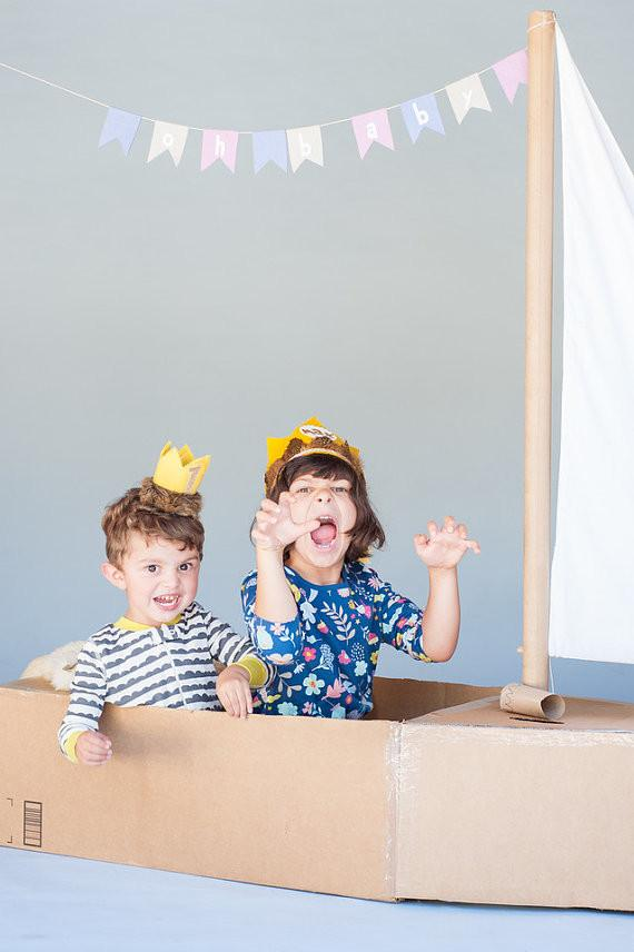 Wild Things Birthday Crown  - The Project Nursery Shop - 3