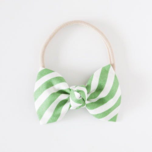 Lucky Stripe Signature Bow Headband - Project Nursery