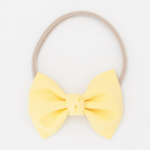 Daffodil Signature Bow Headband - Project Nursery