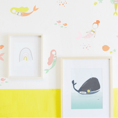 Sweet Mermaids Wall Decals - Project Nursery