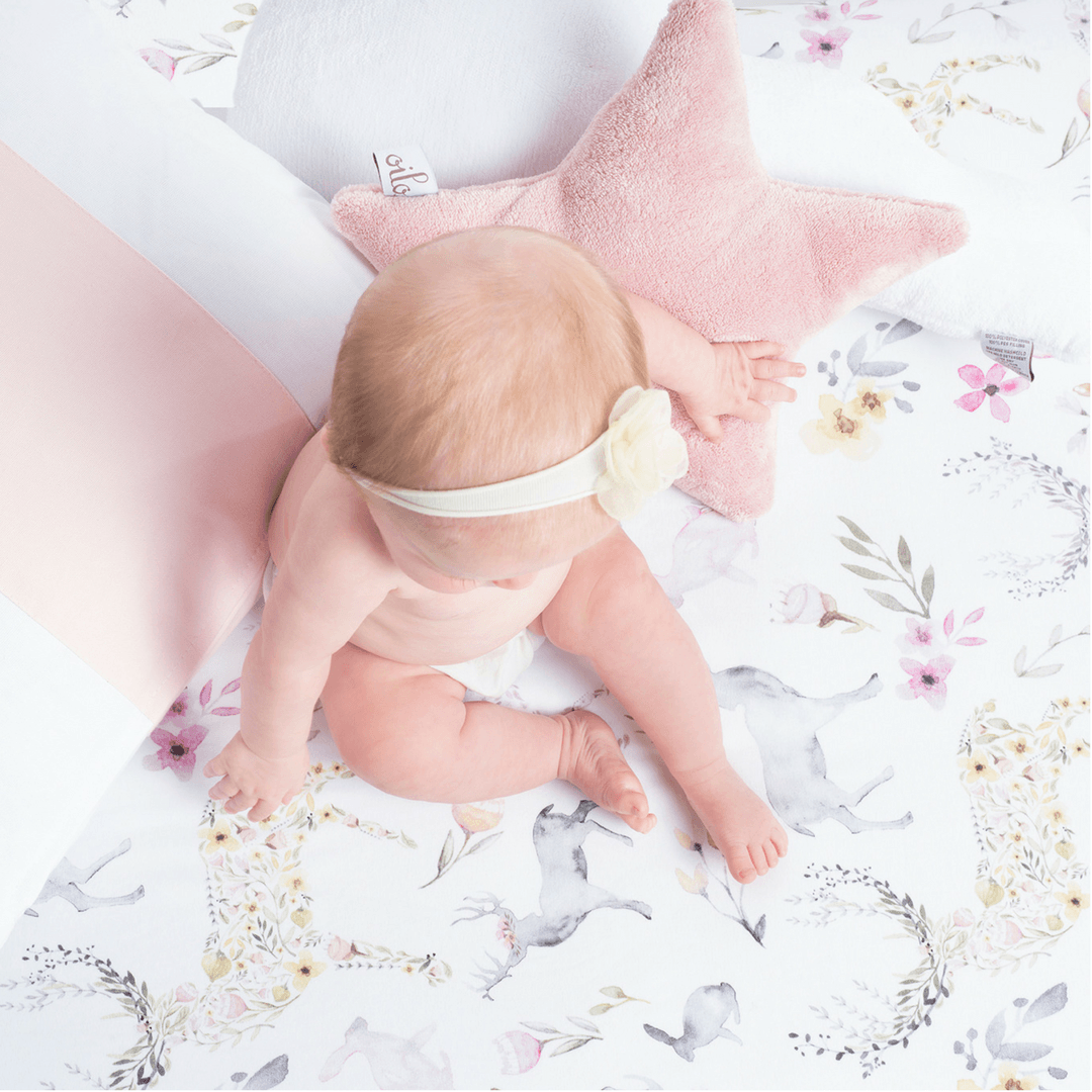 Fawn Jersey Crib Sheet - Project Nursery