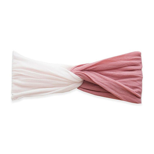 Mauve + Ballet Pink Twist Headband - Project Nursery