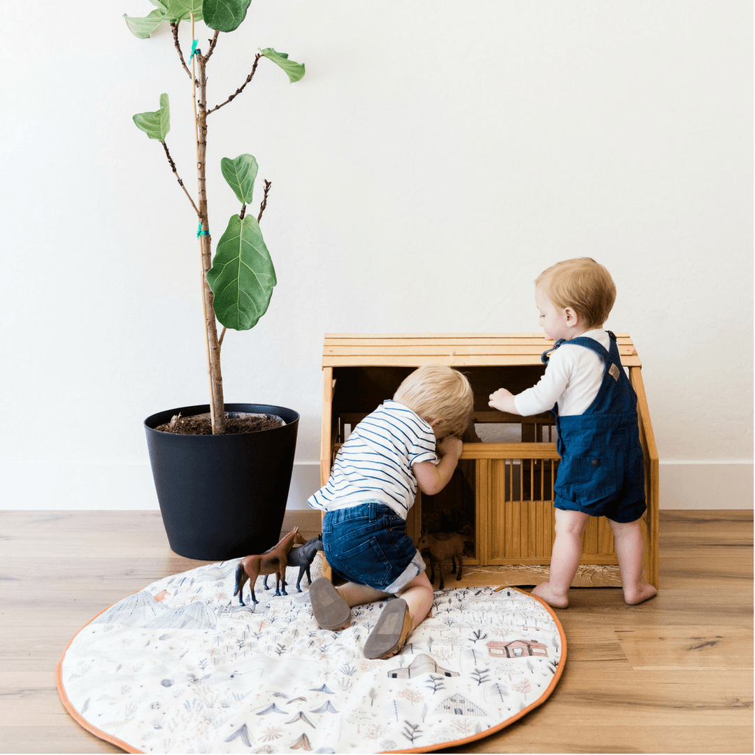 Boulder Play Mat - Project Nursery