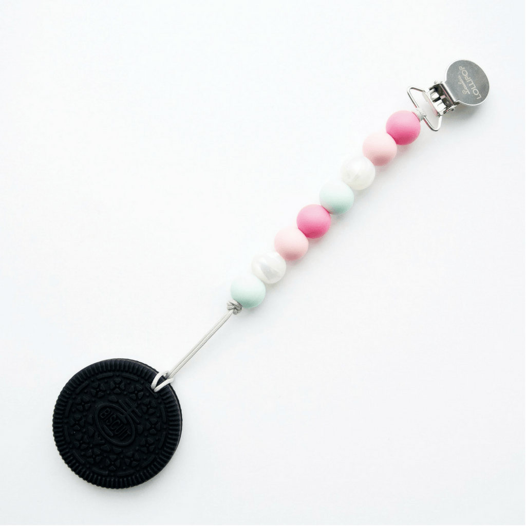 Cookie Teether with Clip - Project Nursery
