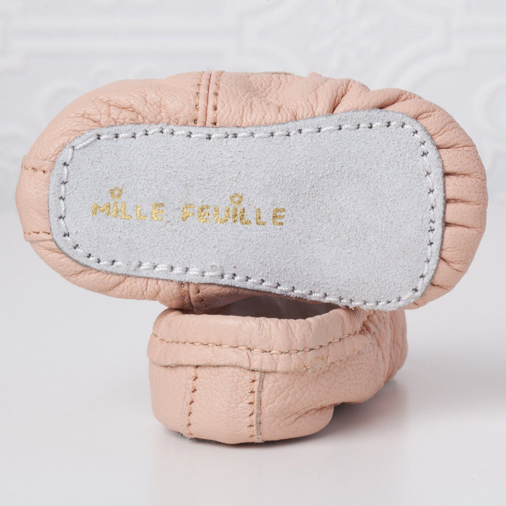 Pink Baby Ballet Slippers  - The Project Nursery Shop - 2