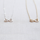 Mini Infinite Necklace Silver Finish - The Project Nursery Shop - 1