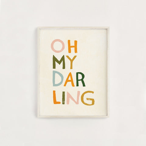 Baby Horse Little Darling Print
