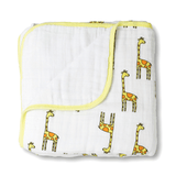 Dream Muslin Blanket in Giraffes  - The Project Nursery Shop - 1