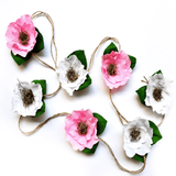 Jute Cord Floral Garland  - The Project Nursery Shop - 1