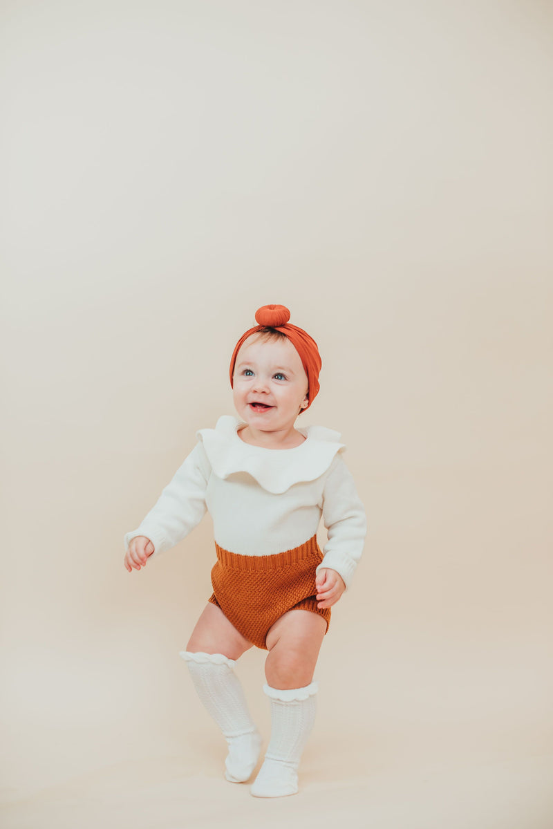 Rust Knot Turban Hat - Project Nursery