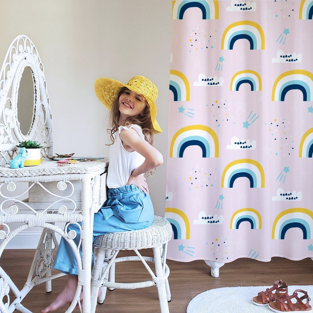 Rainbow Kids Shower Curtain - Project Nursery