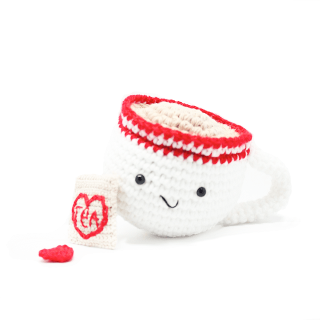 Tea Cup Knit Toy  - The Project Nursery Shop