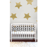 Star Wall Decals XL Metallic Gold - The Project Nursery Shop - 1