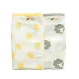 Lovely Lemon & Counting Sheep Organic Muslin Blanket - Project Nursery
