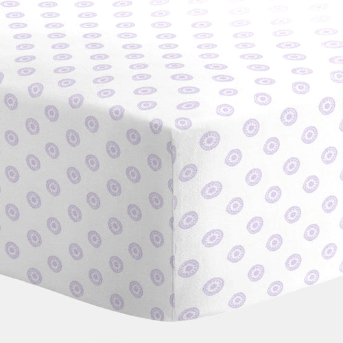 Lilac Chelsea Crib Sheet - Project Nursery
