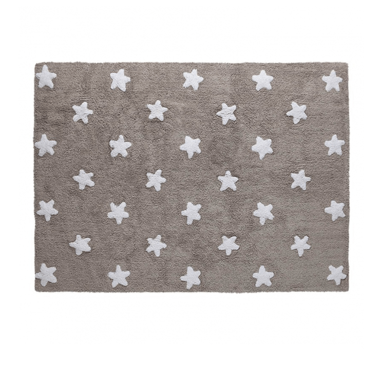 Stars Rug Linen - The Project Nursery Shop - 4