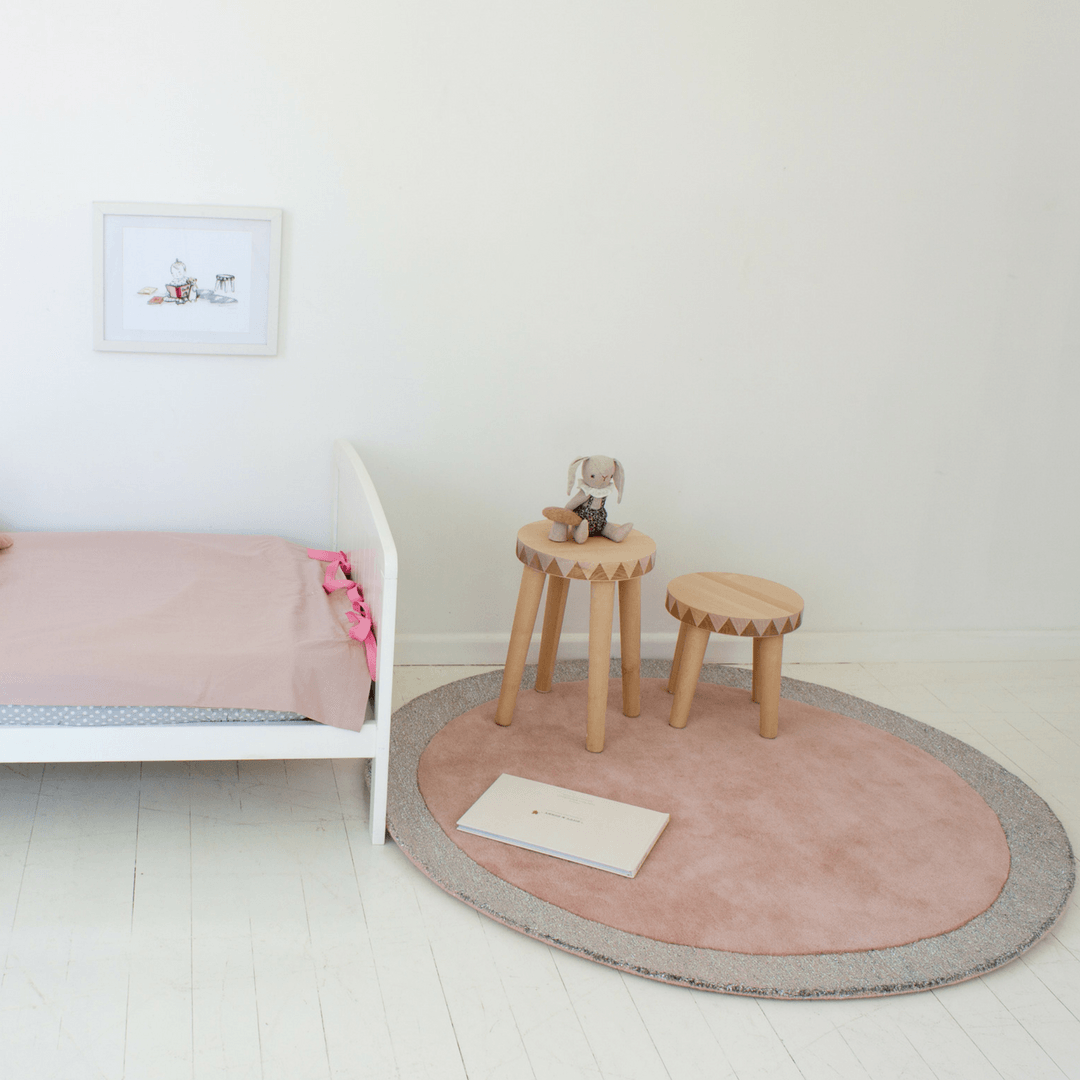 Silver Moon Rug - Project Nursery
