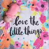 'Little Things' Organic Cotton Knit Blanket  - The Project Nursery Shop - 2