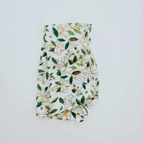 Magnolia Swaddle Blanket - Project Nursery