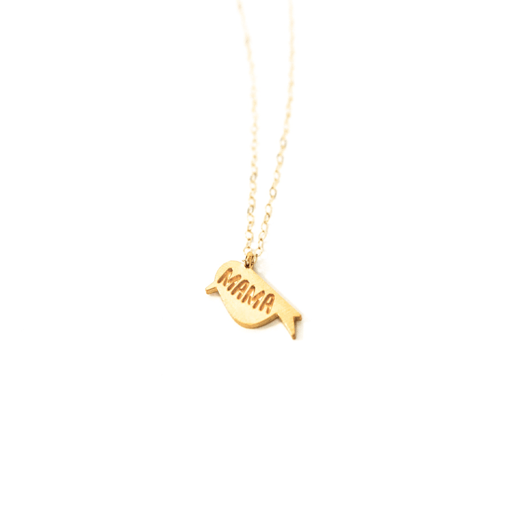 Mama Bird Necklace  - The Project Nursery Shop - 1