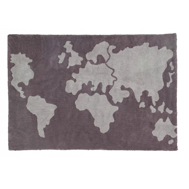 World Map Rug – Project Nursery