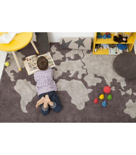 World Map Rug  - The Project Nursery Shop - 2