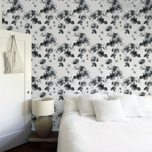 Marigold Wallpaper - Black + White - Project Nursery