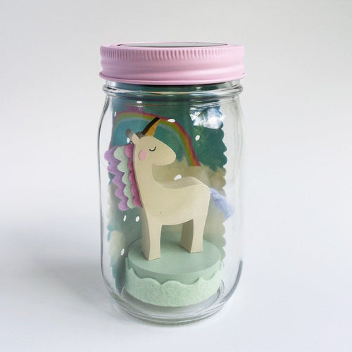 Unicorn Mason Jar Solar Light - Project Nursery