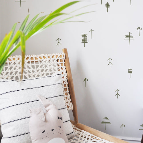 Matchstick Trees Wall Decal - Project Nursery