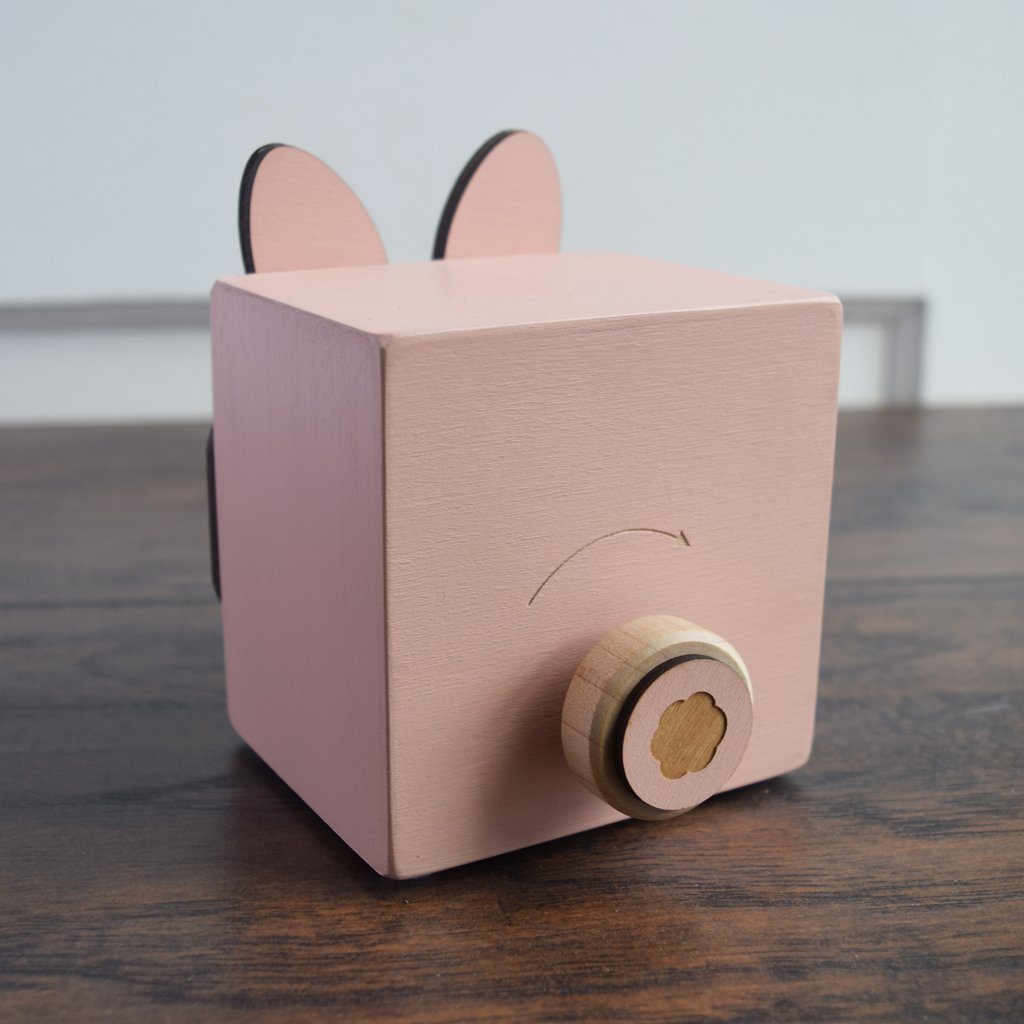 Bunny Menagerie Music Box - Project Nursery