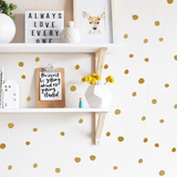 Tiny Hand Drawn Dots Gold - The Project Nursery Shop - 6