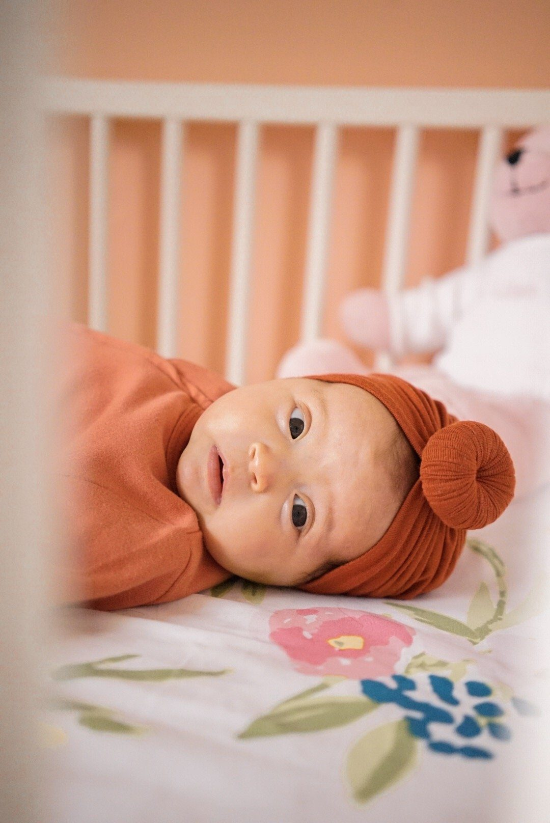 Rust Knot Turban - Project Nursery