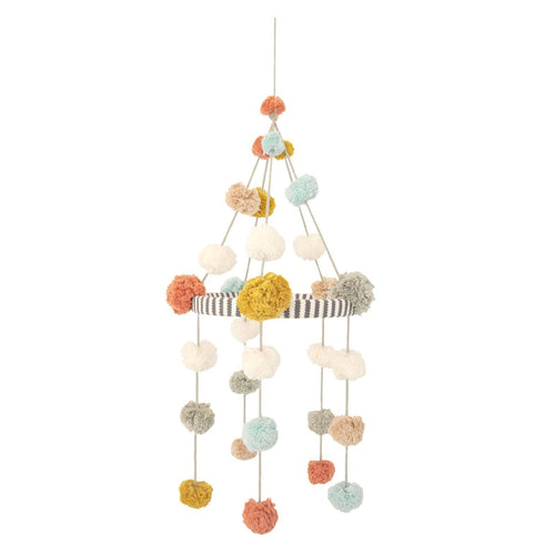Pom Pom Mobile - Blush - Project Nursery