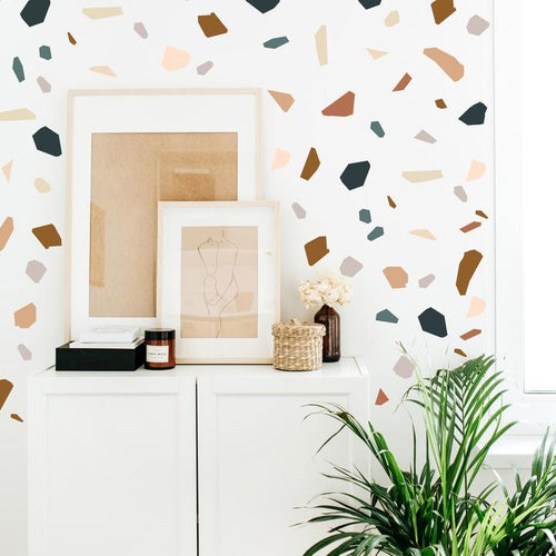Modern Terrazzo Wall Decals - Project Nursery