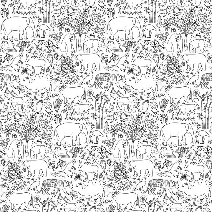 Mowgli Wallpaper - Project Nursery