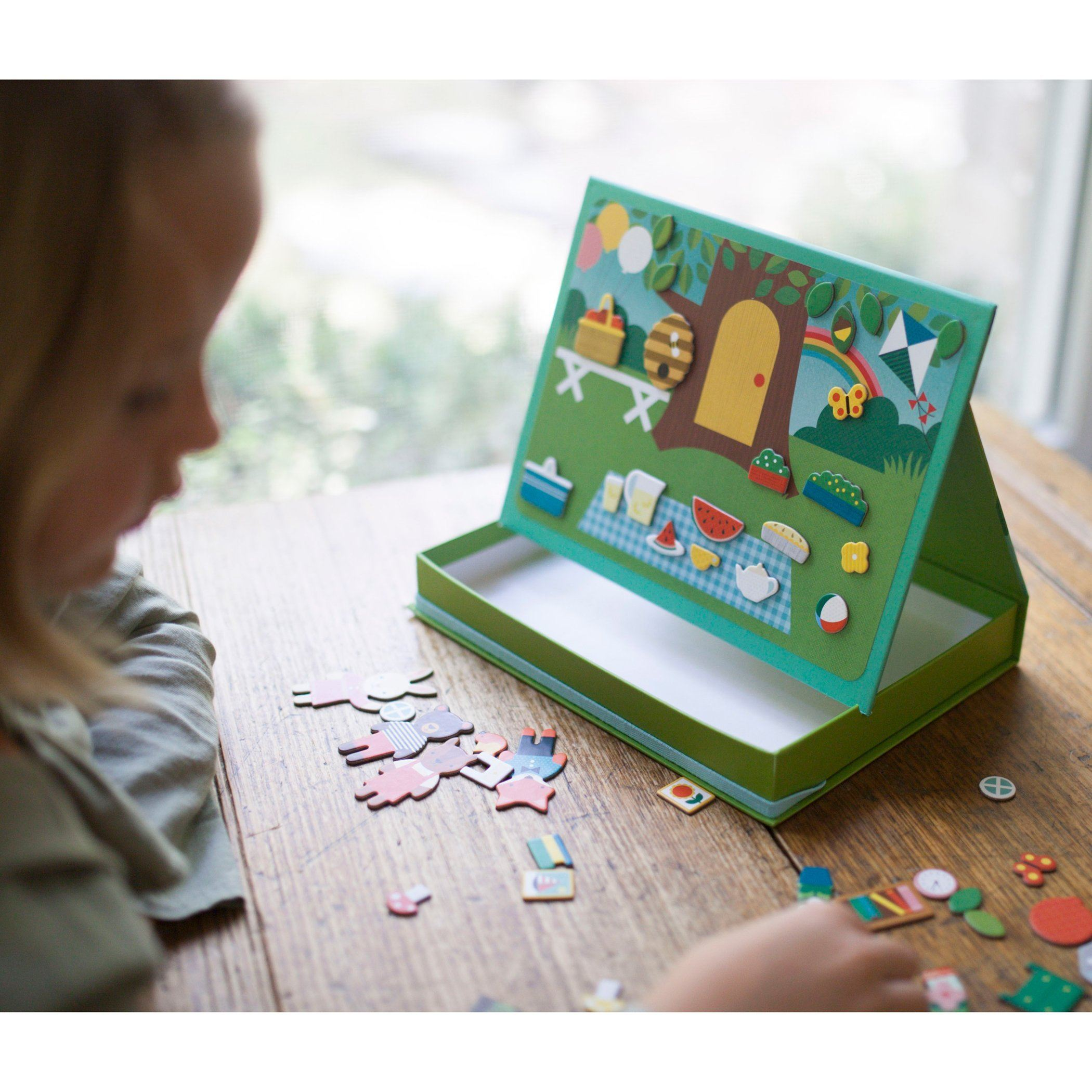 Treehouse Party Magnetic Play Scene Set - Project Nursery
